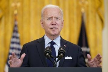 Les armes «fantômes» dans le viseur de Joe Biden)