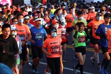 Le marathon de Shanghai réunit quelque 9000participants malgré la COVID-19)