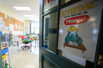 Ventilation dans les classes Les portes devront rester ouvertes dans la majorité des écoles)