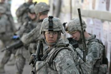 Rôle de formation Washington accepte le retrait de ses troupes combattantes encore en Irak )