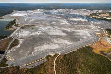 Redevances minières Les mines ont versé 387millions à Québec en 2019)