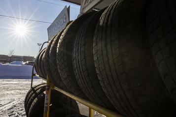 Les pneus d'hiver obligatoires dès mardi)