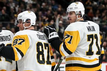 Canadien-Penguins: au centre, le jour et la nuit)