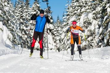 Le ski de fond, antidote contre le stress de la pandémie)