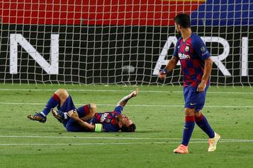 Plus de peur que de mal pour Lionel Messi)