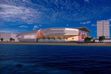 Coyotes de l'Arizona Un projet d'aréna et de développement immobilier de 1,7milliard à Tempe)