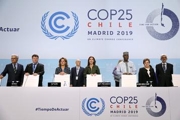 COP25: des pays accusés de «freiner» l'action climatique