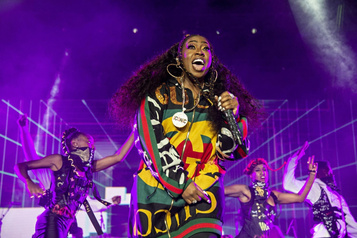 Le retour surprise de Missy Elliott