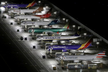 737 MAX: Boeing espère reprendre la production avant la mi-2020