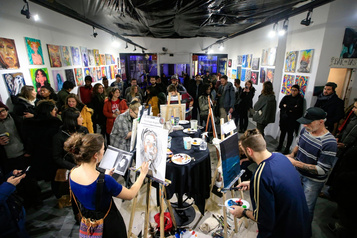 Photoreportage: incursion dans le monde de l'Art Battle