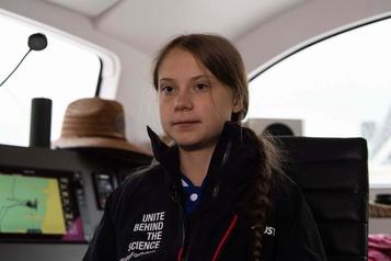 Climat: le discours «extrême» de Trump a réveillé les gens, dit Greta Thunberg