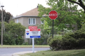 Les ventes de logements ont diminué de 12,5% en avril au Canada)