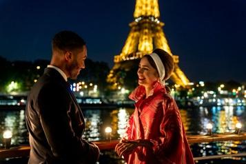 Seconde saison Netflix dévoile des images d'Emily à Paris)