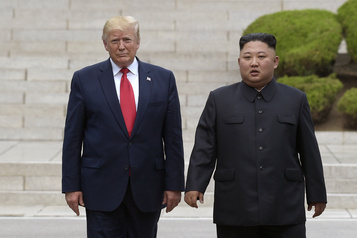 Kim Jong-un a exposé le corps décapité de son oncle, selon Trump)