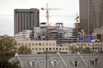 Un hôtel s'effondre à La Nouvelle-Orléans, un mort et trois disparus