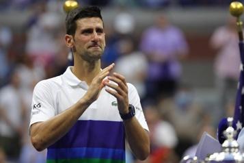Internationaux des États-Unis La Serbie pleure l'échec de Novak Djokovic)