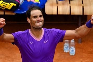 Tournoi de Rome Rafael Nadal accède aux demi-finales)