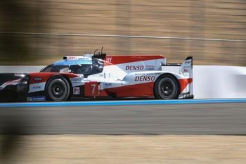 24Heures du Mans: Les Toyota en tête aux premiers essais qualificatifs)