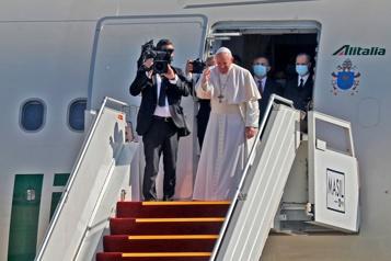 Voyage en Irak Dialoguer avec le grand ayatollah « m'a fait du bien à l'âme », dit le pape)