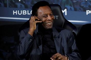 Brésil Pelé est sorti des soins intensifs)