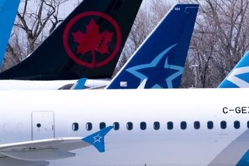 Vente de Transat à Air Canada Ottawa toujours en pourparlers avec les deuxentreprises)