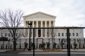 Alerte à la bombe à la Cour suprême avant l'investiture de Biden)