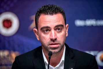 Xavi donne un million d'euros à un hôpital de Barcelone