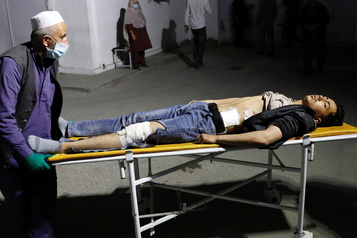 Au moins 18morts dans un attentat à Kaboul revendiqué par l'EI)