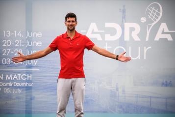 Tennis: Djokovic organise un tournoi mi-juin à Belgrade avec Zverev, Thiem et Dimitrov )