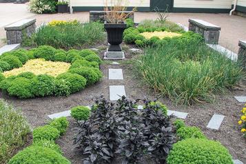 Un jardin defines herbes)