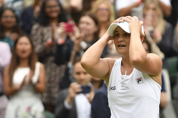 Ashleigh Barty sacrée championne à Wimbledon)