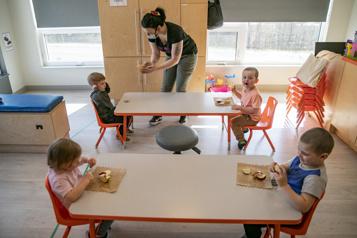 Garderies Québec annoncera la création de 22000 places)