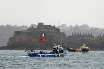 Chicane en mer sur fond de Brexit )