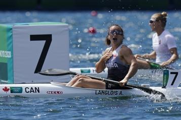 Canoë-kayak Andréanne Langlois en finale du K1 200m)