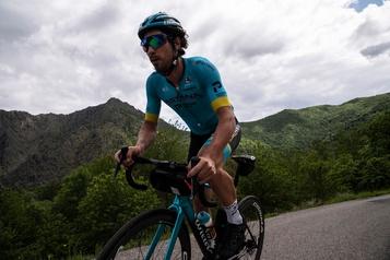 Cyclisme: renaissance et souffrance pour l'Italien Fabio Felline)
