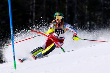 Mondiaux de ski alpin Katharina Liensberger triomphe au slalom)