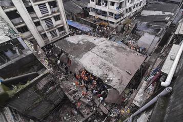 Inde Au moins 15morts après l'effondrement d'un immeuble)