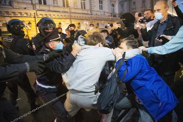 Russie: plus de 140arrestations après une manifestation d'opposants)