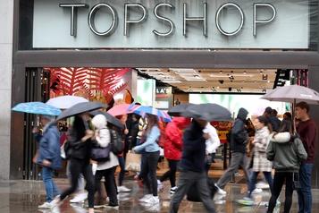 Propriétaire de Topshop Le groupe Arcadia en faillite, victime de la pandémie)