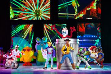 Disney sur glace, toute une aventure !