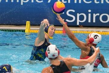 Water-polo Direction demi-finales pour les Canadiennes)