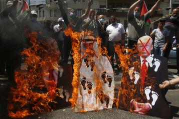 Accord Israël-Émirats: les Palestiniens se sentent«trahis»)