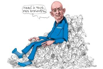 Retour sur Terre pour Bezos)