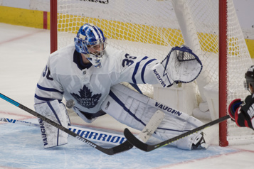 Maple Leafs Absence prolongée pour le gardien Jack Campbell)