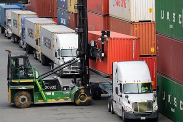 Le déficit commercial à un plus bas depuis mai2018