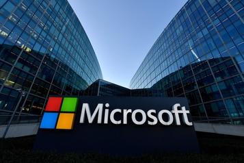 Microsoft démarre son année en forme grâce à une forte demande pour son «cloud»)