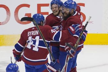 Le Canadien est à l'aise dans son rôle de négligé contre les Flyers)