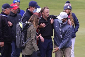 Tournoi des célébrités de la Coupe Ryder  L'acteur Tom Felton évacué du parcours de golf)