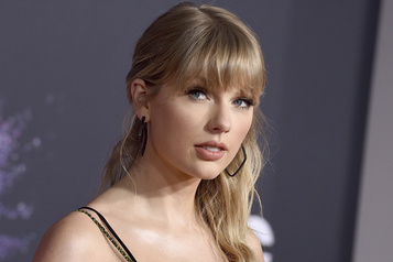 Taylor Swift outrée par Trump)