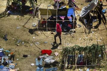 L'enfer texan de migrants haïtiens)